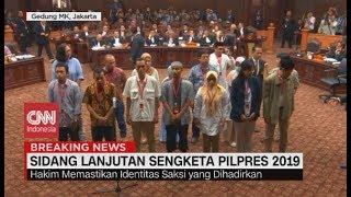 Deretan Saksi yang Dihadirkan di Sidang Lanjutan Sengketa Pilpres 2019