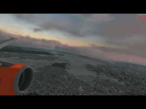 |Prepar3d 3.4|Airbus A319| Lot z Widzem! |EPWA-EPGD|Mleko na podejściu|