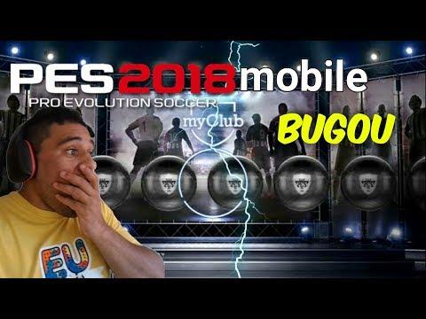 BUGOU PES 2018 MOBILE + COMO ADICIONAR AMIGO COM ID + box draw beckham - 동영상