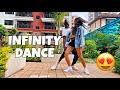 Gambar cover INFINITY - Olamide ft. Omah Lay Dance | Tileh & Martina