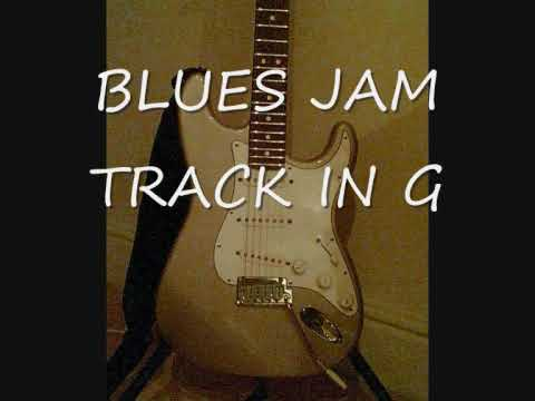 Blues Jam track in G