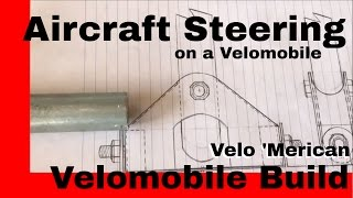 Velomobile Steering. A trike with aircraft steering??? Yup that and more....