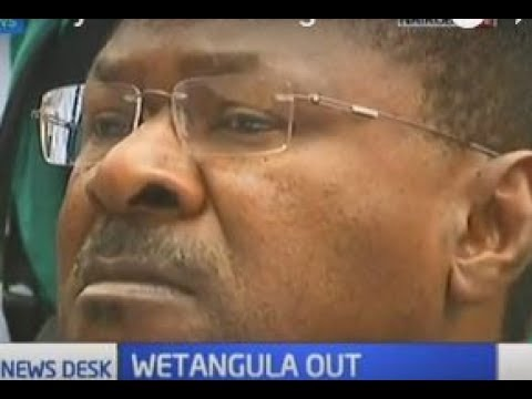 Ford Kenya irked by Moses Wetangula's ouster, party officials say they are the opposition now