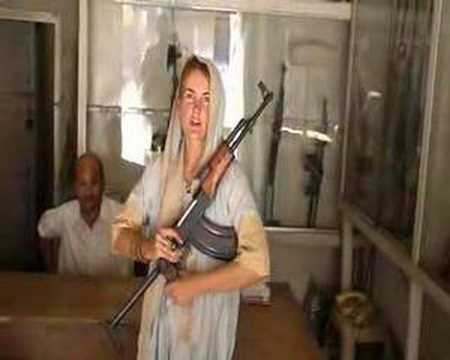 Ak47 in gun shop multan pakistan 2006 youtube for N gents salon karachi prices