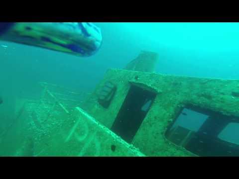 Diving ship reck Malta