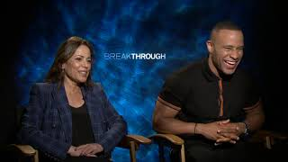 Breakthrough Devon Franklin & Roxann Dawson Generic Interview || #SocialNews.XYZ
