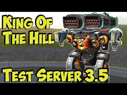 War Robots KING Of The HILL Gamemode on Test Server 3.5