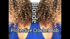 Kima Deep Ripple 8inch T1b/27 Crochet Protective Style  Bob Inspired