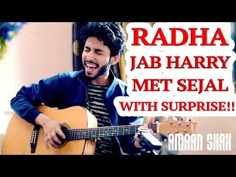 Radha – Jab Harry Met Sejal | Shah Rukh Khan Powerful Cover With A Surprise by Amaan Shah HB Style