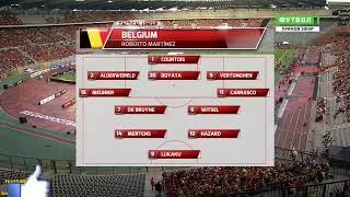 Belgica 4 vs costa rica 1