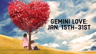 "Gambar cover Gemini Love:  Jan. 15th-31st  ""Secrets Coming Out."