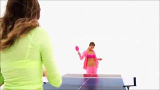Victoria's Secret Angels Playing Pink Pong! Thumbnail