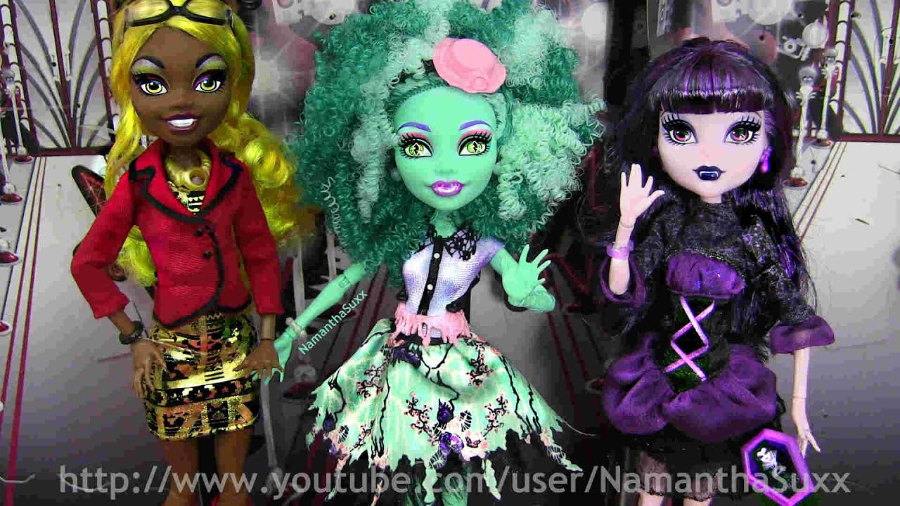 MONSTER HIGH FRIGHTS CAMERA ACTION NEW STARS CLAWDIA HONEY