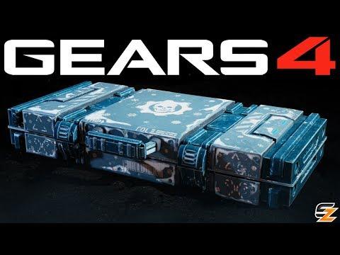 Gears of War 4 Gear Packs - OPENING GEARSMAS 2018 GEAR PACKS!