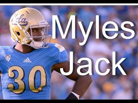 Myles Jack ultimate highlights   OLB UCLA football NFL Draft 2016