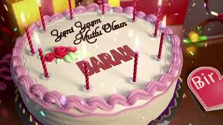 İyi ki doğdun BARAN - İsme Özel Doğum Günü Şarkısı