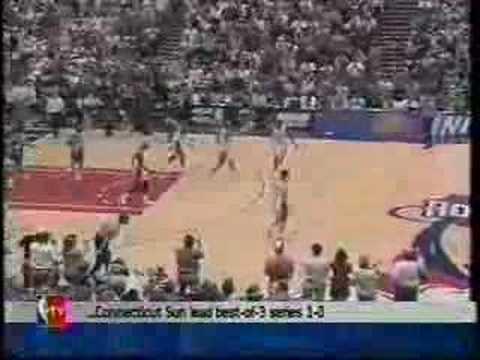 1997 NBA Playoffs Houston Rockets vs Utah Jazz