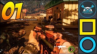 """Earthfall: THIS GAME. WOW! (Campaign Gameplay Walkthrough """"Supply Run"""" Part 1 
