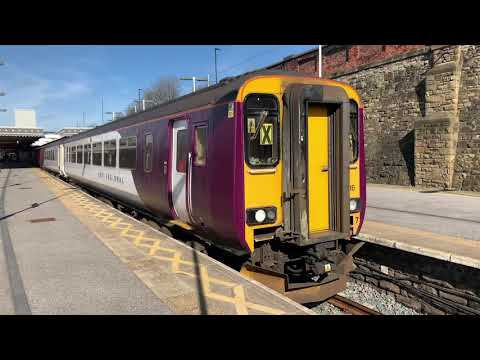 EMR X Greater Anglia 156916+EMR 153376+153372 At Sheffield From Liverpool To Nottingham from YouTube · Duration:  45 seconds