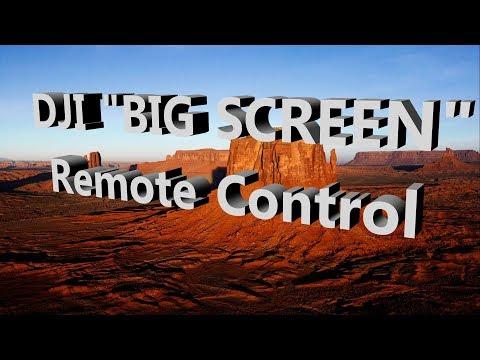 DJI  Worlds Biggest Monitor Screen for remote control Spark, Mavic, Phantom