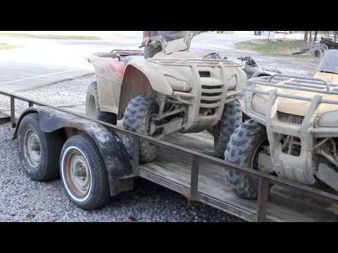 How To Load An ATV Onto A Trailer