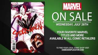Marvel NOW! Titles for July 26th