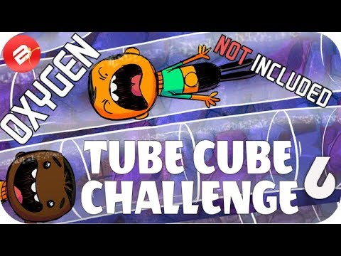 TUBE CUBE COLONY CHALLENGE MAP EP 6 - Oxygen Not Included TUBULAR UPGRADE ONI