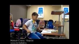 видео Детские компьютерные кресла фирмы