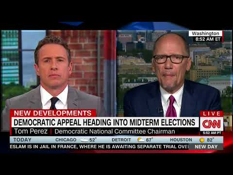 TOM PEREZ FULL INTERVIEW WITH CHRIS CUOMO - NEW DAY (4/23/2018)