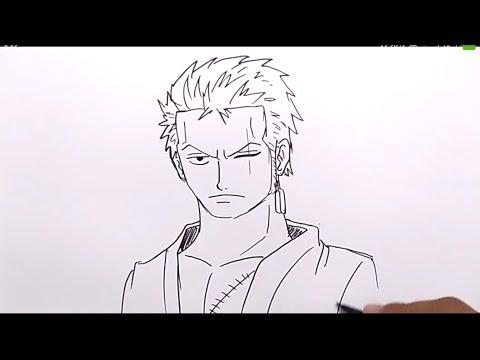 Keren Cara Menggambar Kata Kaido Menjadi Yonkou Kaido One Piece Youtube