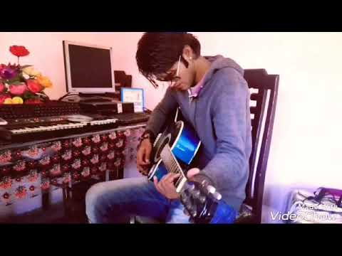 a dil bata amaizing voice  guitar cover zaigham ayaz . Arijit sing song . .