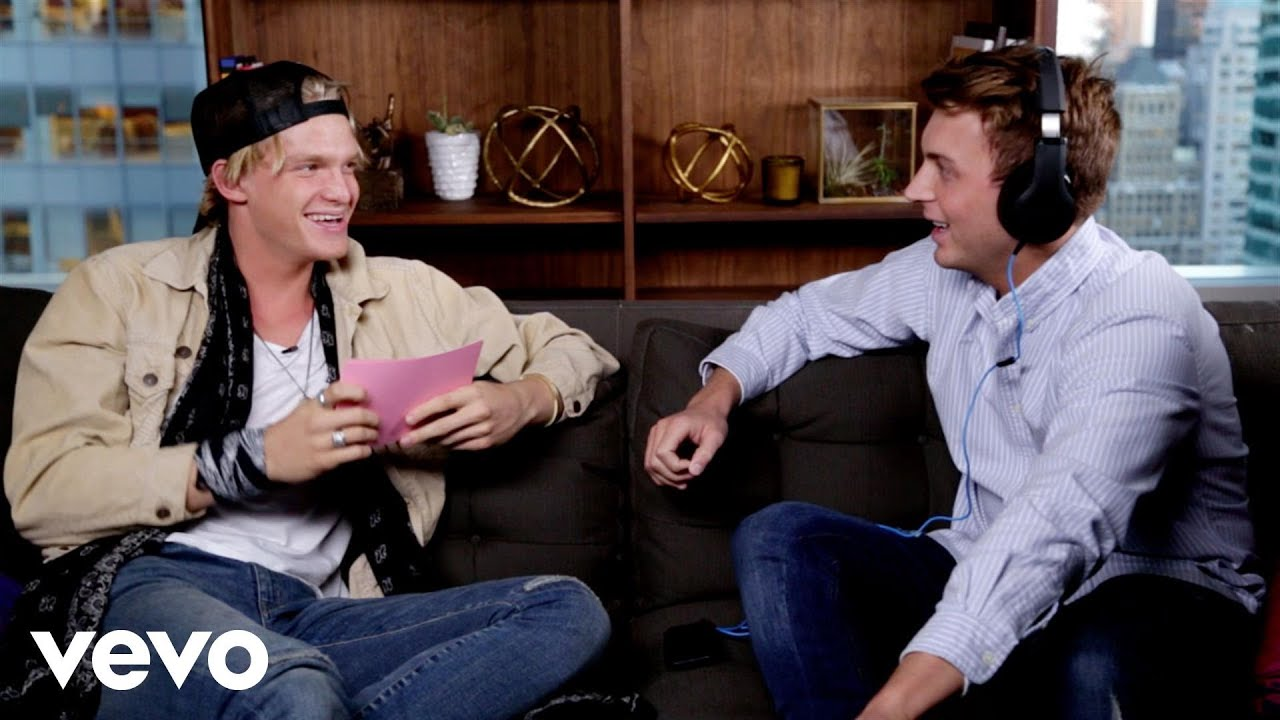 Cody Simpson - The Whisper Challenge (Valentine's Day Edition)