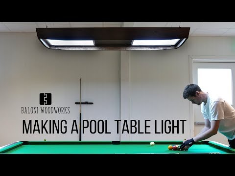Making a Brunswick Style POOL TABLE LIGHT!