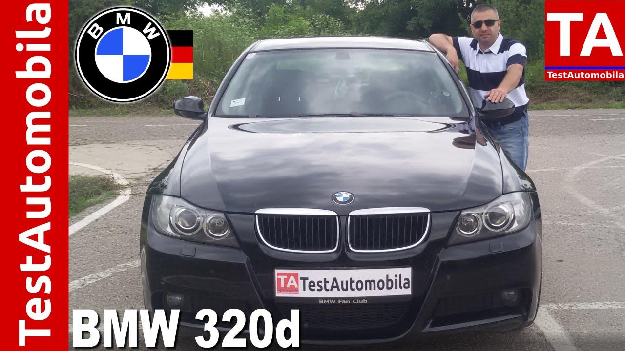 Bmw 320d E90 163 Ks Test Youtube