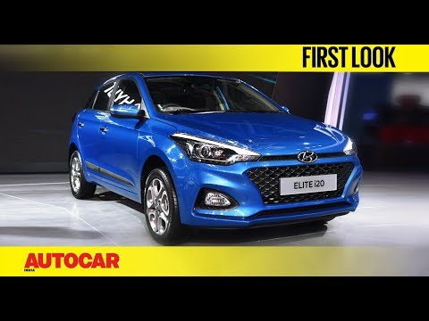 2018 Hyundai Elite i20 | Facelift | Auto Expo 2018 | Autocar India