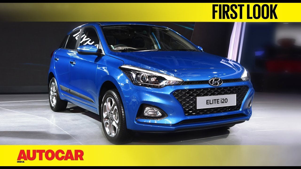 2018 hyundai elite i20 facelift auto expo 2018 autocar india rh youtube com Hyundai I20 2018 Germany Hyundai I20 2018 Germany