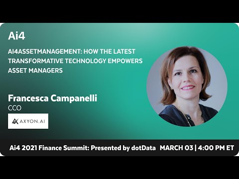 Ai4assetmanagement: How the Latest Transformative Technology Empowers Asset Managers