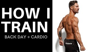 HOW I TRAIN – Back + Cardio Workout by Men's Health Cover Guy