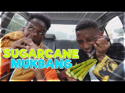 Sugarcane Mukbang with  Funnymike ! (how we met)