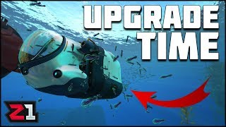 Base Power and Seatruck UPGRADES ! Subnautica Below Zero Ep 7 | Z1 Gaming