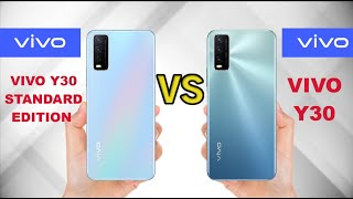 VIVO Y30 STANDARD EDITION VS VIVO Y30