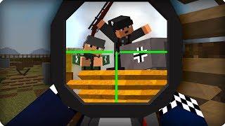 Вторая Мировая Война [ЧАСТЬ 22] Call of duty в Майнкрафт! - (Minecraft - Сериал)