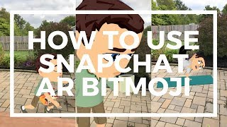 Wie zu Verwenden Snapchat AR Bitmoji