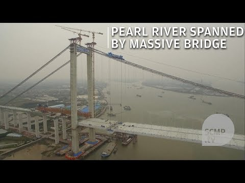 Stunning: the world's widest steel box girder bridge