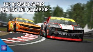 Top 10 Racing Games For Low End PC or Laptop