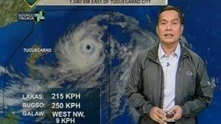 BP: Typhoon Ompong, pinakamalakas na bagyong pumasok sa PAR simula nitong Enero