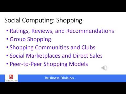 MIS: Social computing and E-business