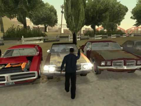 Gta San Andreas Some Classic American Cars Part Youtube