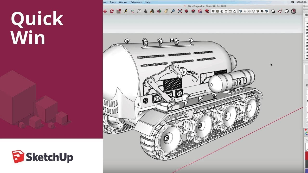 Purge Unused To Speed Up Your Sketchup Models Youtube