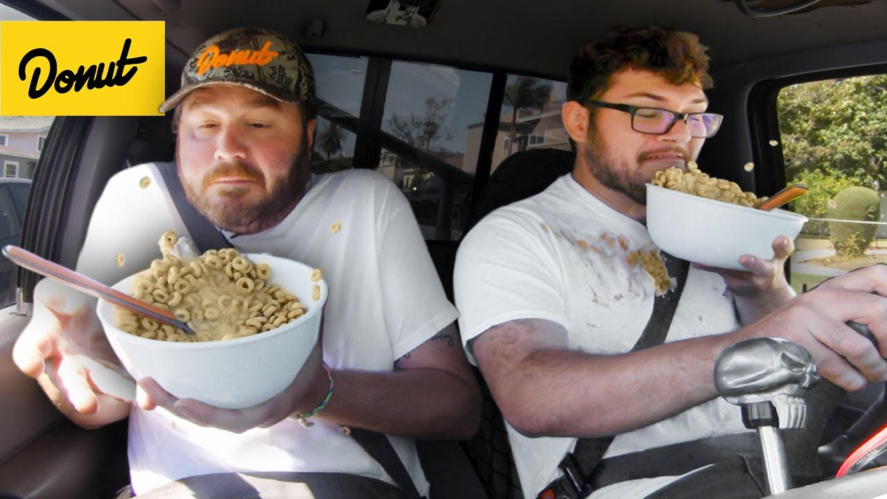 Download We Tried Foods You Shouldn't Eat While Driving